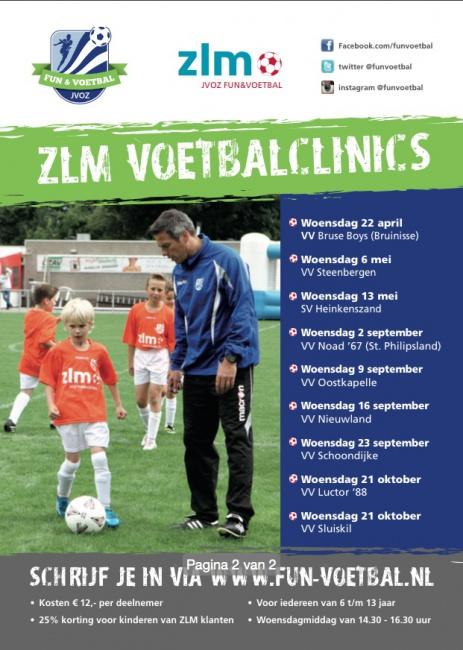 ZLM voetbalclinics