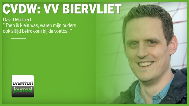 Club van de week : VVB – David Mullaert